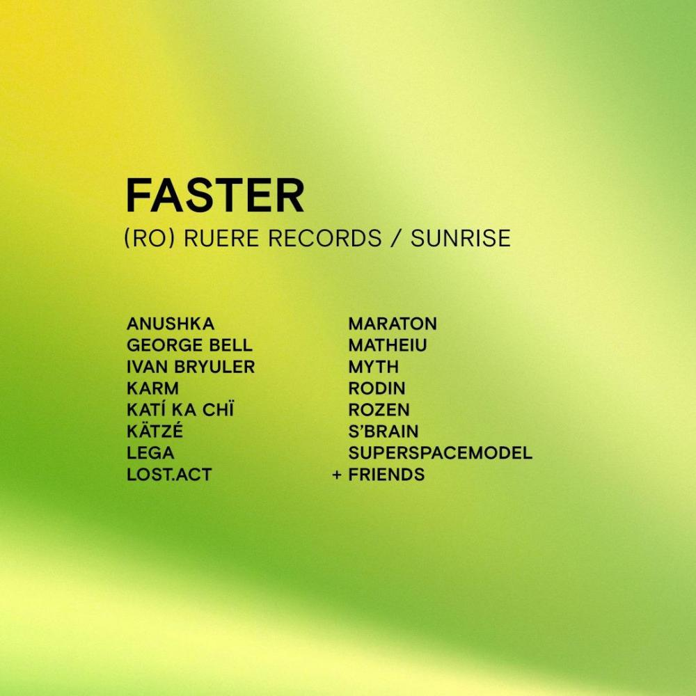 Bytheway w/ Faster (Ruere Records)