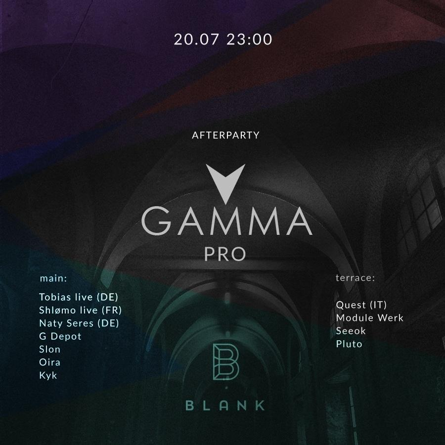 GAMMA_PRO Afterparty
