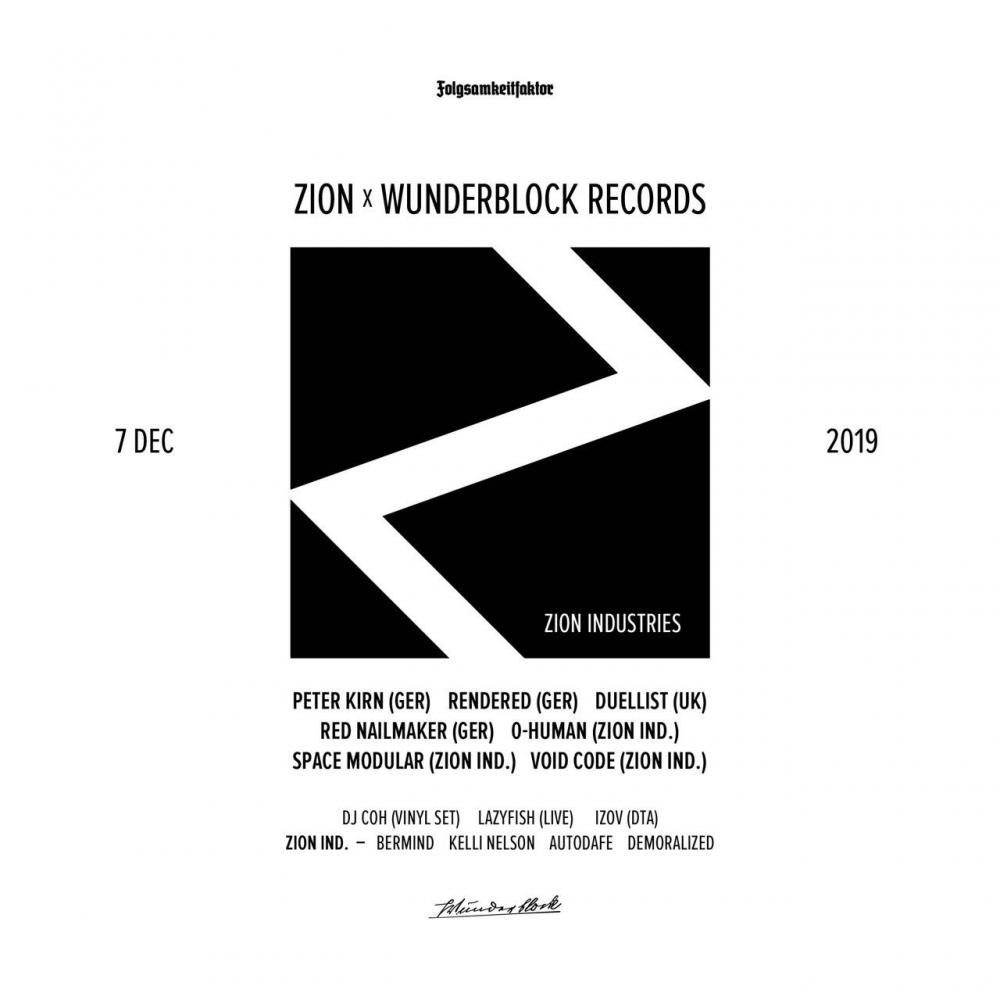 ZION x Wunderblock Records